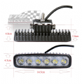 36w High powered cree light